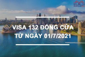 Diện thị thực Visa 132 đóng cửa – Chương trình cấp thường trú nhân vĩnh viễn tại Úc