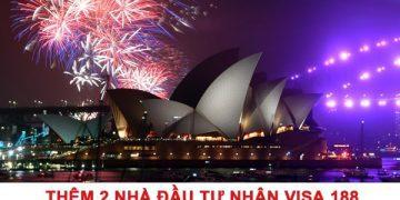 Thêm 2 nhà đầu tư nhận Visa 188 – Định cư Úc diện doanh nhân